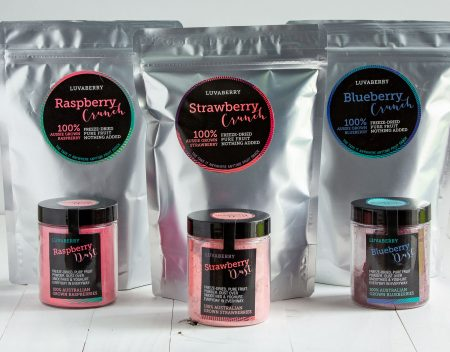 Luvaberry freeze-dry products